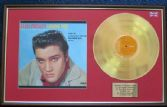 Elvis Presley - 24 Carat Gold Disc and Cover - Loving You
